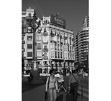 Street Scene, Valencia Photographic Print