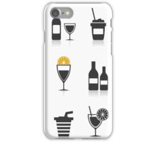 Alcohol an icon iPhone Case/Skin