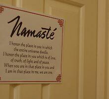 Namaste by Sarah Horsman
