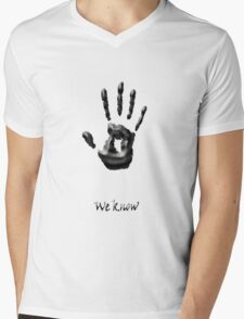 we know new!!! Mens V-Neck T-Shirt
