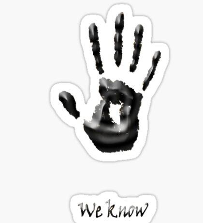 we know new!!! Sticker