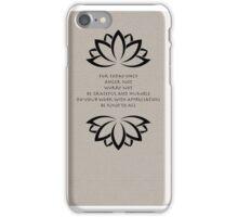 Reiki-Meta Prayer iPhone Case/Skin