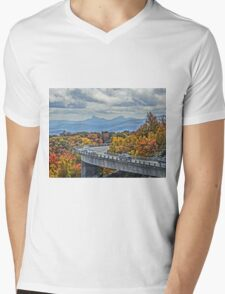 Blue ridge parkway Mens V-Neck T-Shirt