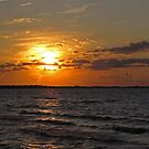 Lake Erie Sundown by Monnie Ryan