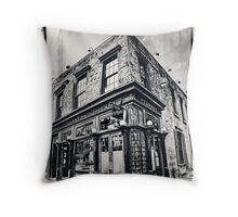 NYC Landmarks Throw Pillow