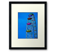 Eye Colour Framed Print