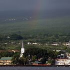 Rainbow over Kona by Soulmaytz