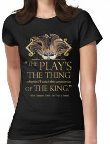 Shakespeare Hamlet Play Quote Womens Fitted T-Shirt