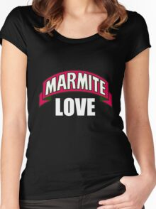 Love Marmite Women's Fitted Scoop T-Shirt