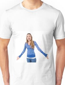 Angry and frustrated Young teen girl  Unisex T-Shirt