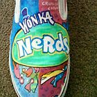 """Nerds"" Willy Wonka Candy Company brand.  by Aestheticz ."