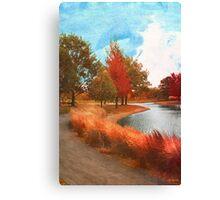Autumn At Mcbride Arboretum Canvas Print
