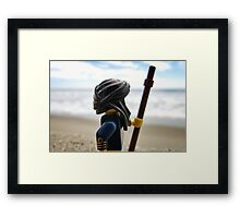 Sand Pirate Framed Print
