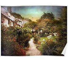 An English Garden Poster