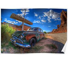 Cow Canyon Poster