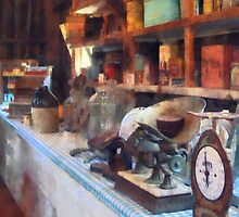 General Store With Scales by Susan Savad
