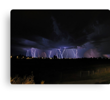 Severe Thunderstorm Canvas Print