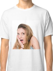 Surprised Young teen girl  Classic T-Shirt