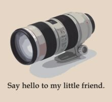 Say Hello to my Little Friend (70-200) by Greg Ting