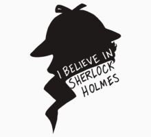 Believe in Sherlock Profile T-Shirt