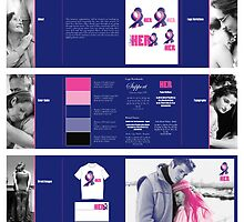 Support HER Identity Graphics Standards Manual by Danny Huynh