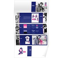 Support HER Identity Graphics Standards Manual Poster