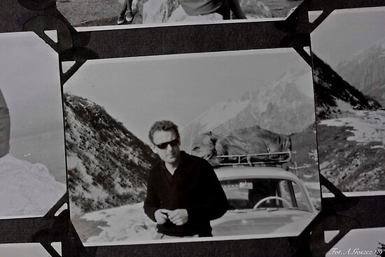 ♥ ♥ ♥ ♥  My Father ♥ ♥ ♥ ♥  . San Bernardino Pass . a.d. 1963 .  High mountain pass in the Swiss Alps. by Brown Sugar. Views (154) favorited by (3) thank you . by AndGoszcz