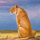 Masai Watch by Graeme  Stevenson