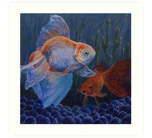 Life in a Fishbowl Art Print