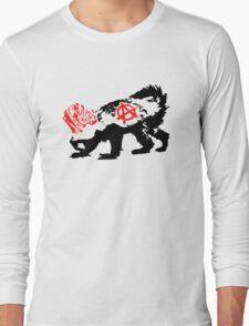 Punk Honey Badger Long Sleeve T-Shirt