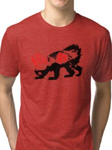 Punk Honey Badger Tri-blend T-Shirt