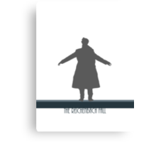 The Reichenbach Fall Canvas Print
