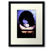 Sadness is a Blessing Framed Print