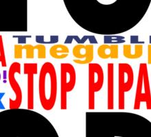 Stop SOPA/ PIPA Sticker