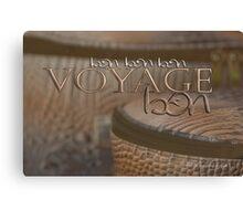 Bon Voyage © Vicki Ferrari Photography Canvas Print