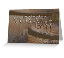 Bon Voyage © Vicki Ferrari Photography Greeting Card