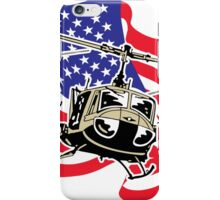 American Flag Helicopters iPhone Case/Skin