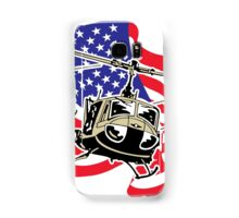 American Flag Helicopters Samsung Galaxy Case/Skin