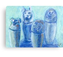 Canopic Blue (pastel) Metal Print