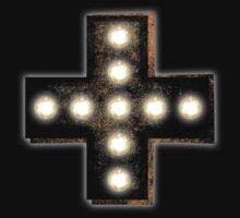 Marquee Cross One Piece - Short Sleeve