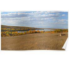 North Saskatchewan River Poster
