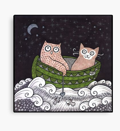 The Perfect Pair Canvas Print