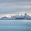 San Francisco Bay Morning Panorama  by Gregory Ballos | gregoryballosphoto.com