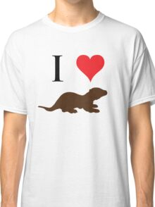 I Love Otters Classic T-Shirt