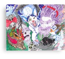 All That Lies Beneath & More Canvas Print