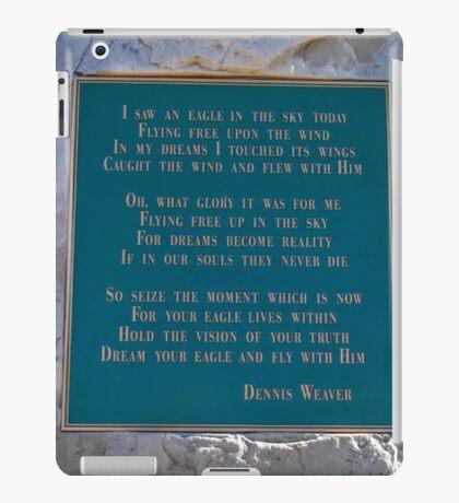 Dennis Weaver's Words iPad Case/Skin