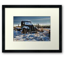 Desire or the Truth Framed Print