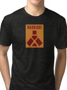 Wampa Warning - English Tri-blend T-Shirt