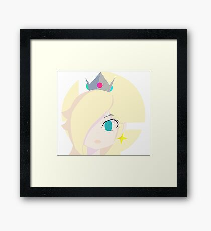 Super Smash Bros. : Rosalina Framed Print