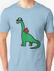 Pirate Dinosaur - Brachiosaurus T-Shirt